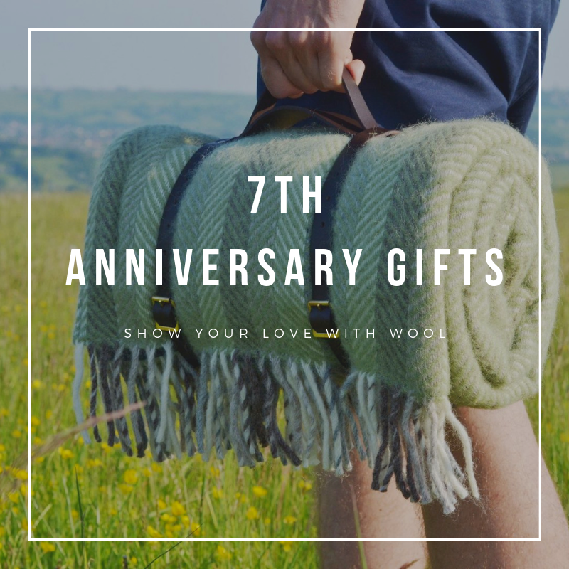 7th Anniversary Gifts wool anniversary gifts The British Blanket Company