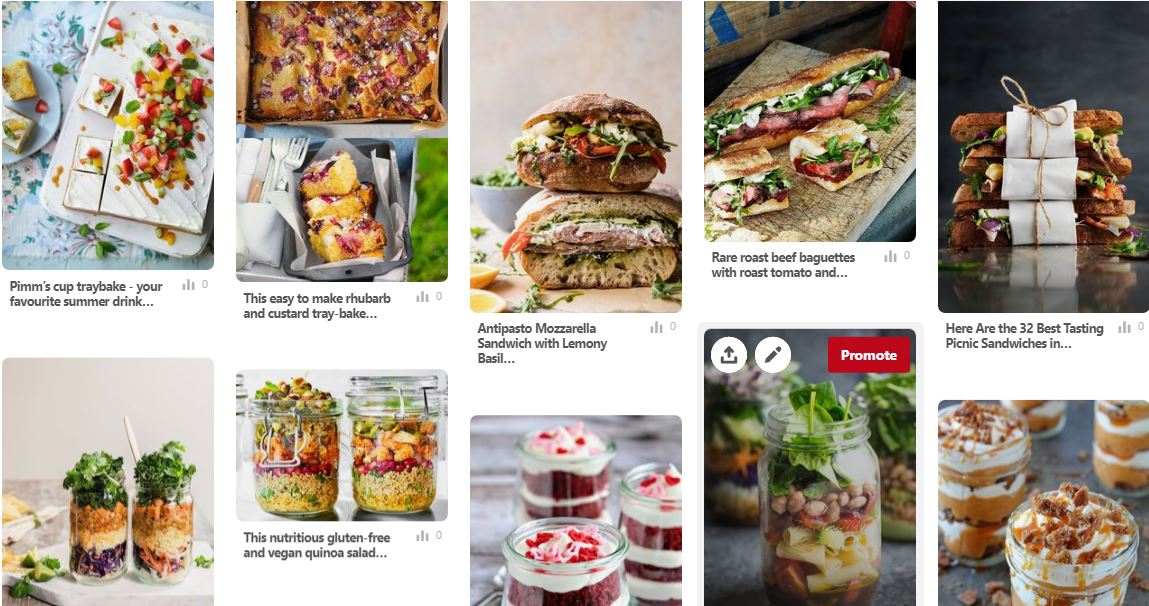 picnic recipes Pinterest The British Blanket Company