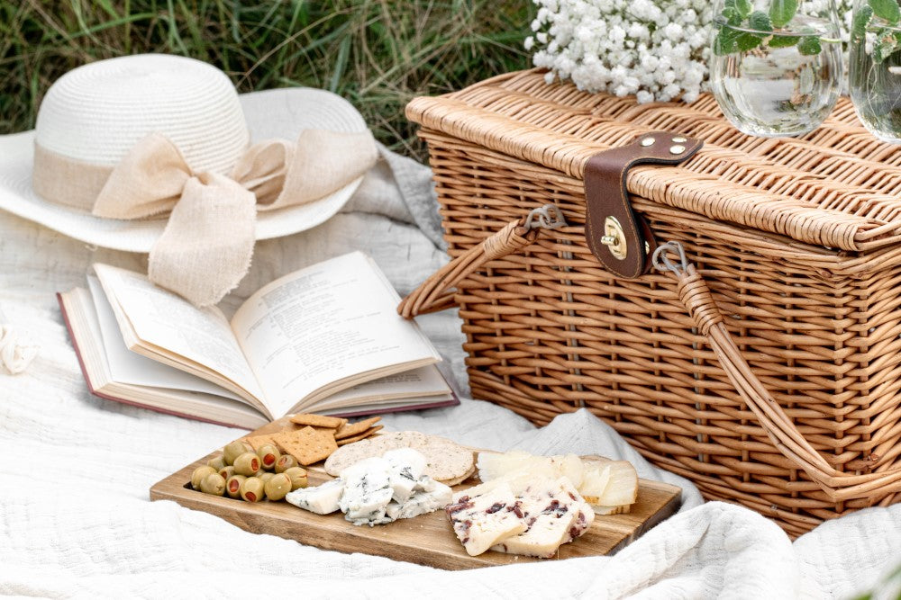 picnic hamper wedding gift ideas for couples who have everything