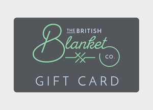 '- Gift Card - The British Blanket Company