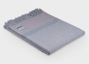 British Birds 'Woodpigeon' Merino Lambswool Throw