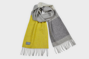 Gorse Yellow Lambswool Scarf