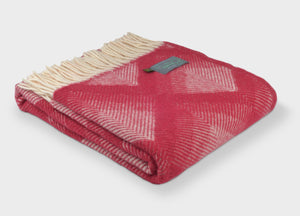 Watermelon Prism Throw - The British Blanket Company