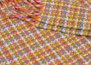 Woodstock Check Festival Throw - buy at The British Blanket Company