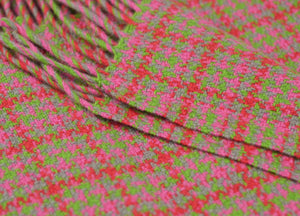 Coachella Check Festival Throw - buy at The British Blanket Company