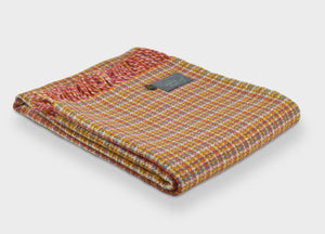 Woodstock Check Festival Throw