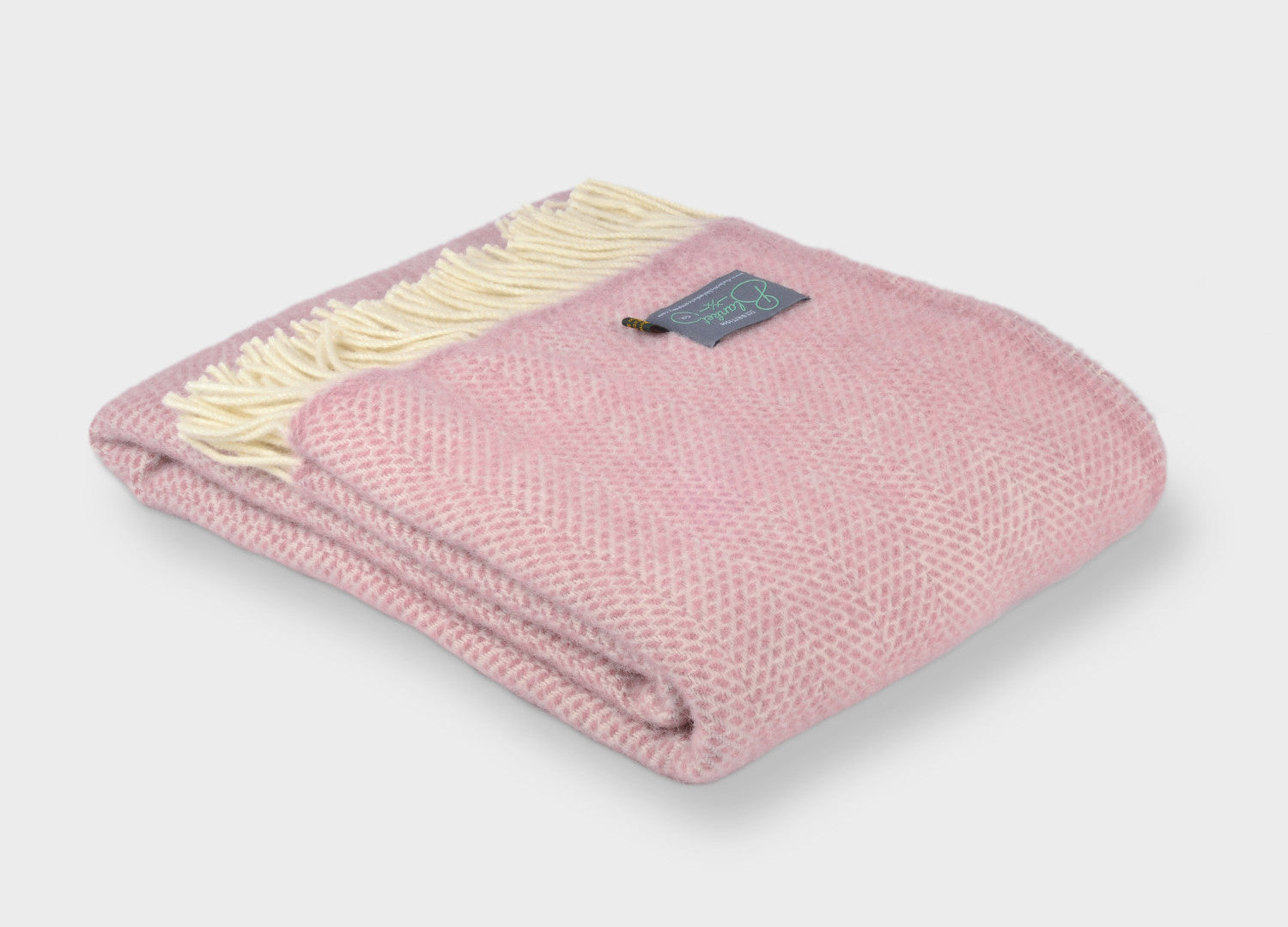 Pink Throws The British Blanket Company