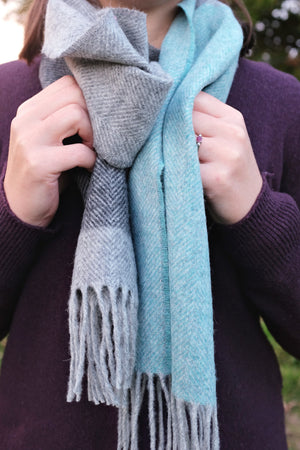 Coast Blue Lambswool Scarf