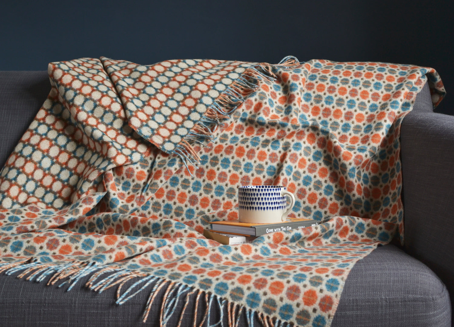 The British Blanket Co Throws And Blankets All Colours
