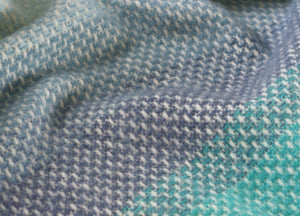 Seaside Blue Ombre Throw