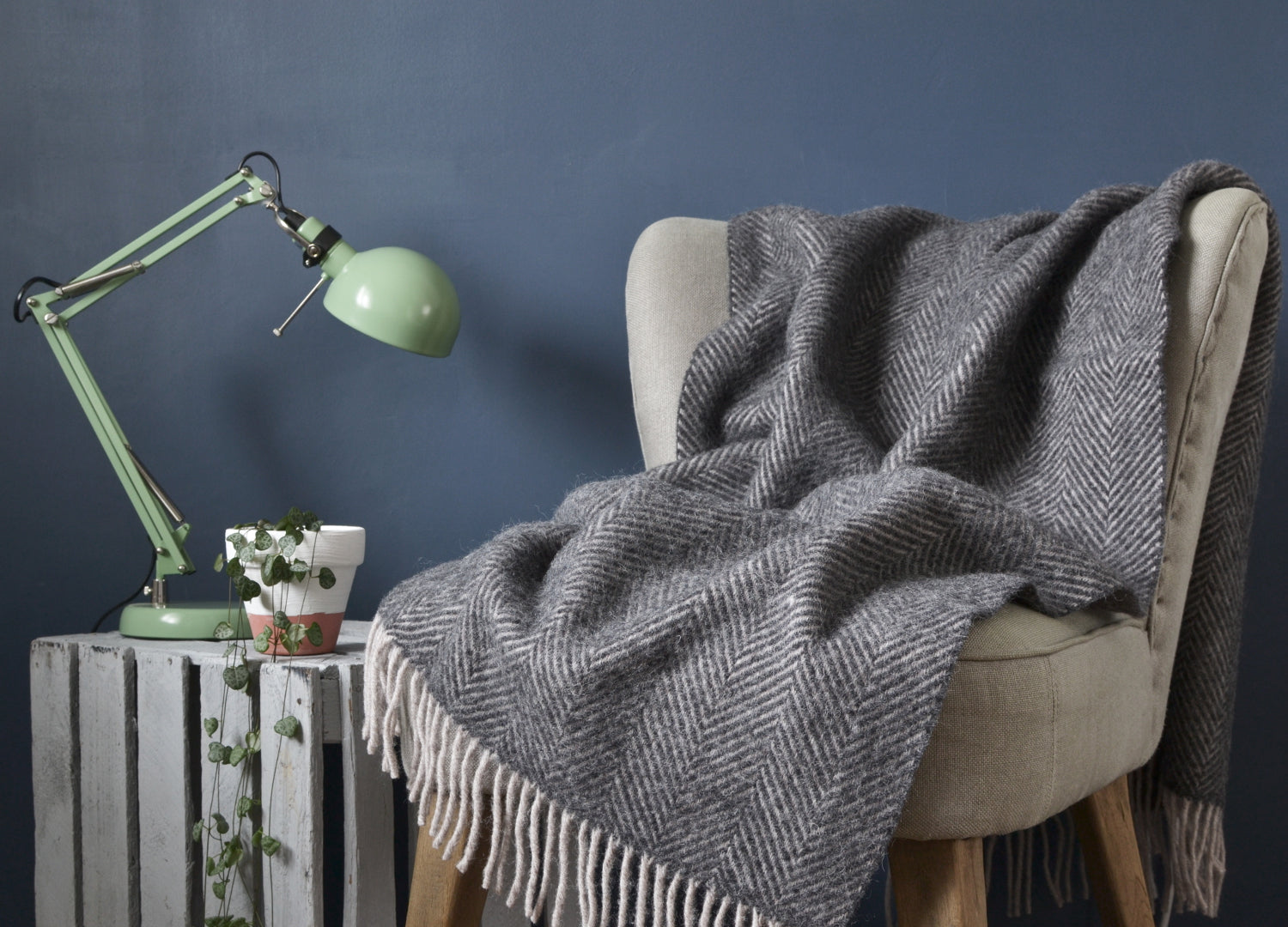Groovy Armchair Throws The British Blanket Company Download Free Architecture Designs Scobabritishbridgeorg