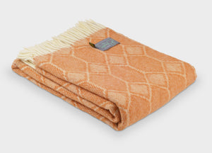 Amber Gemstone Throw - buy at The British Blanket Company