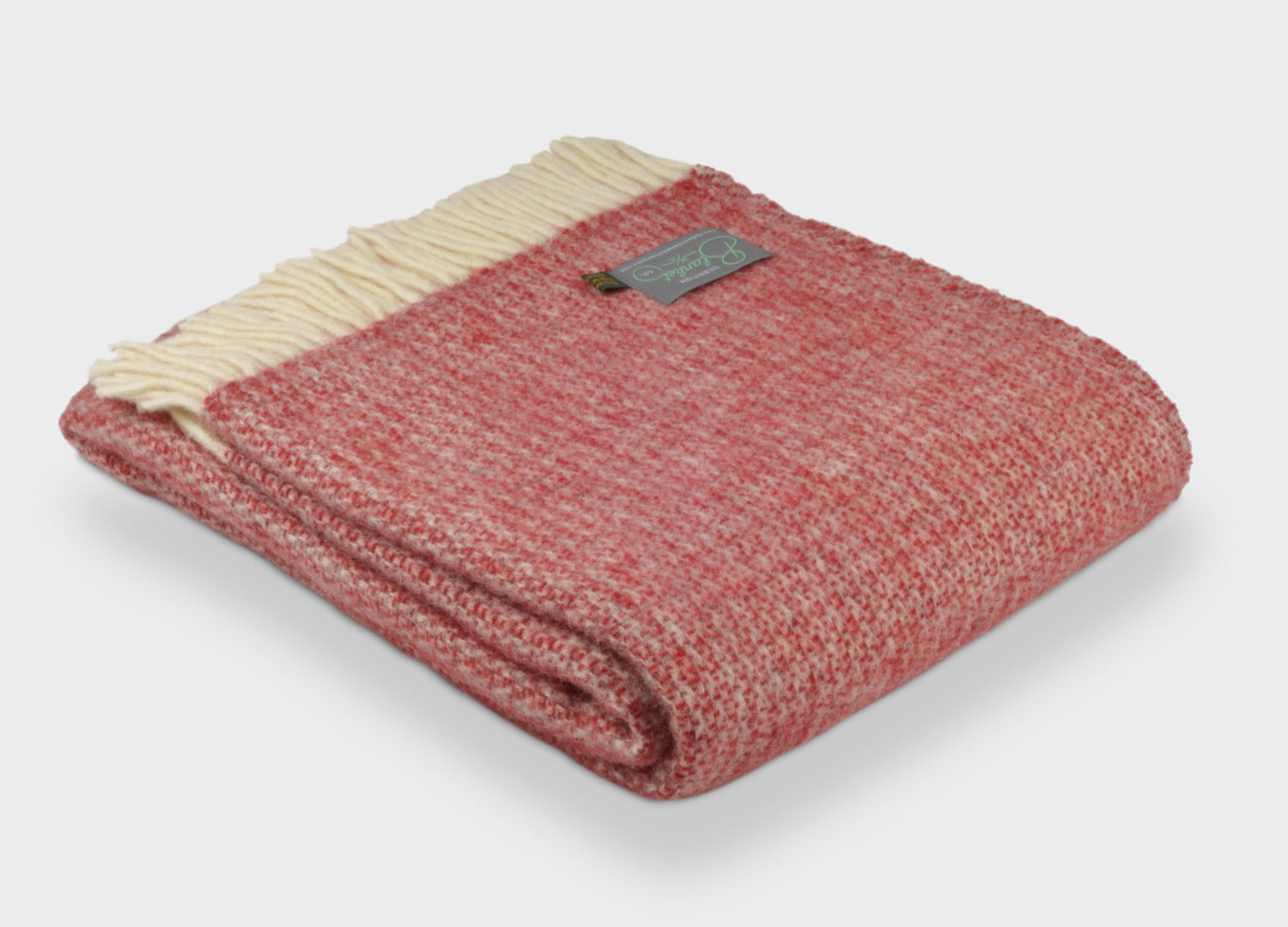 Red Throws | The British Blanket Company