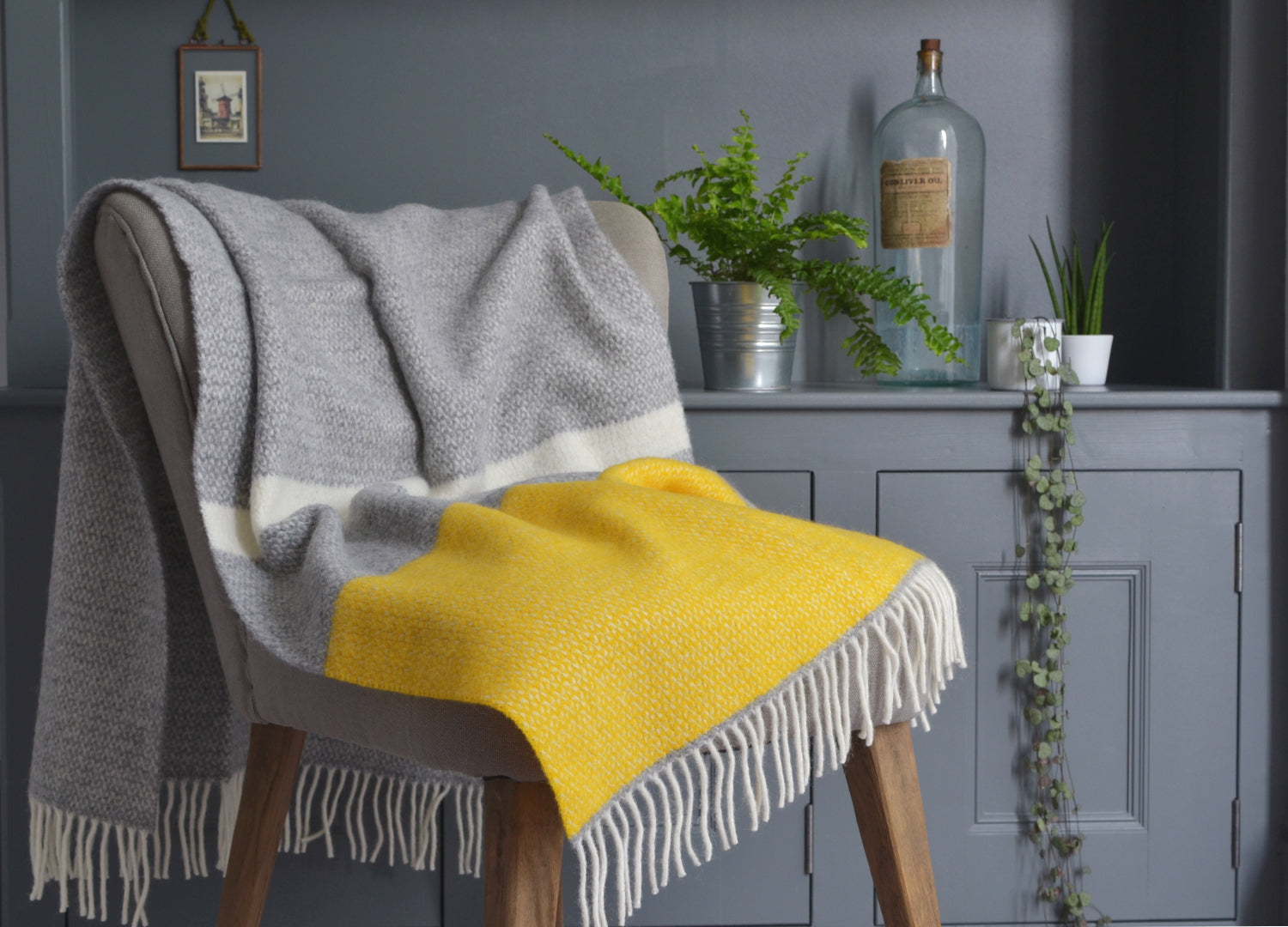 Armchair Throws The British Blanket Company