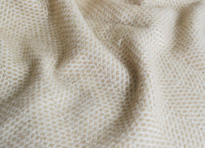 Natural Oat Beehive Armchair Throw - buy at The British Blanket Company