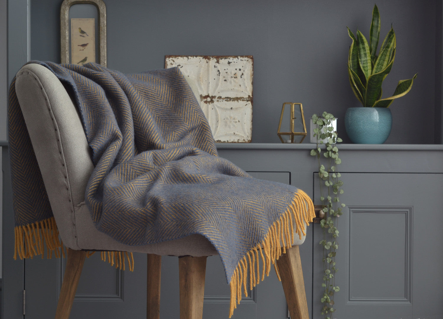 Magnificent Blue Throws The British Blanket Company Download Free Architecture Designs Scobabritishbridgeorg
