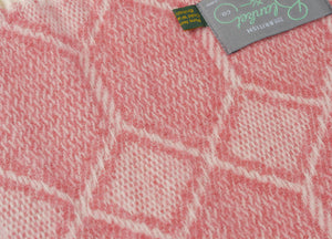 Lingonberry Gemstone Throw - buy at The British Blanket Company