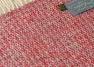 Red and Silver Windmill Throw - buy at The British Blanket Company