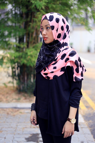 Pink Dot Cardishawl