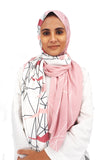 Blush Graphic Shawl