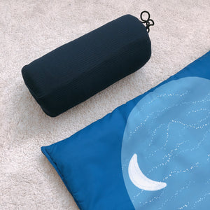 Ilm Adult Padded Prayer Mat - Navy