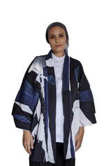 Load image into Gallery viewer, LS x Inkten: Geo Flow Pleated Kimono