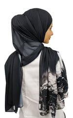 Load image into Gallery viewer, #LSEssential: Smokey Black Shawl
