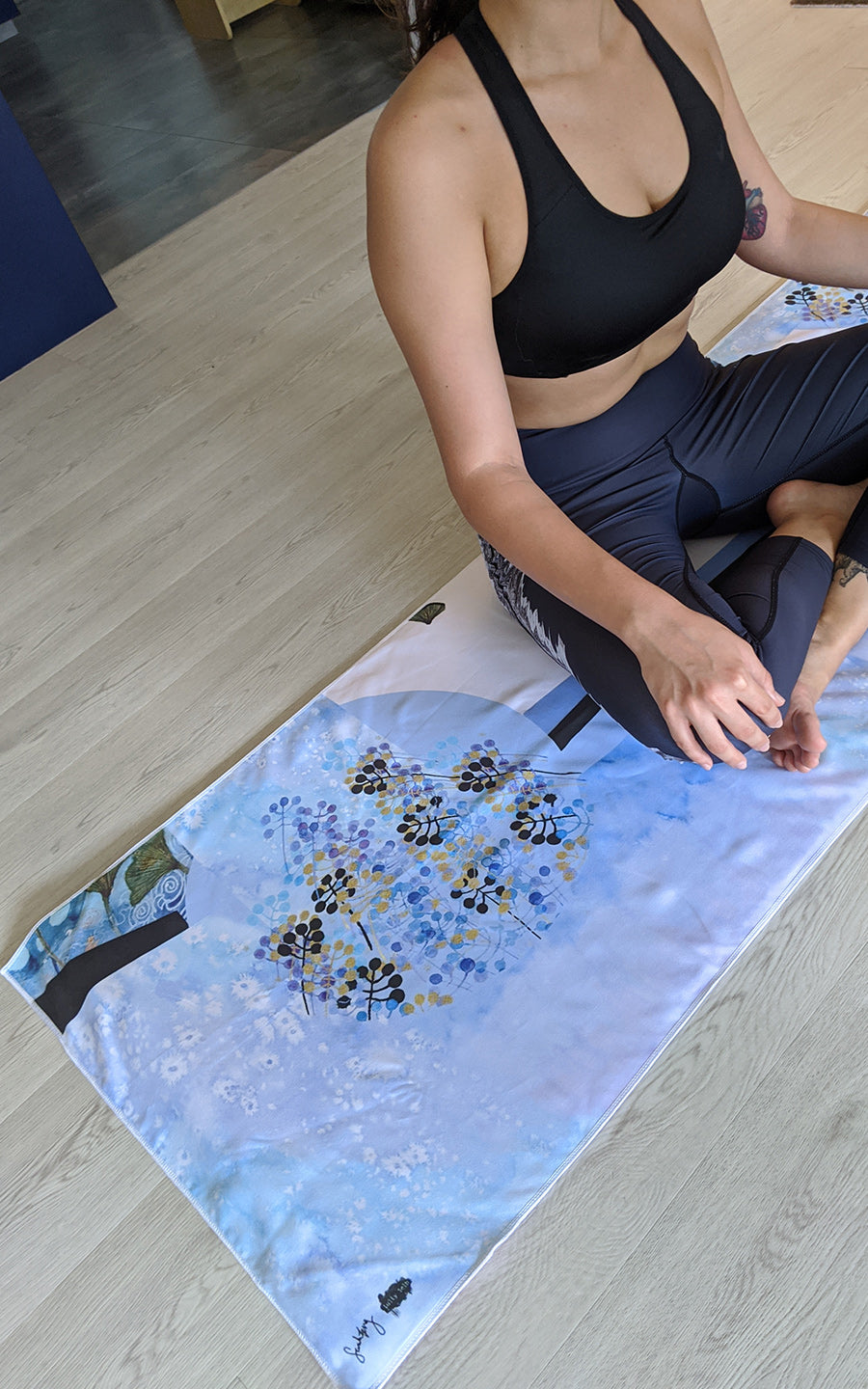 #LSlife Cove Yoga Mat Towel
