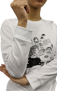 Cafe LS Girl Long Sleeved T-Shirt