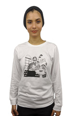 Load image into Gallery viewer, Cafe LS Girl Long Sleeved T-Shirt