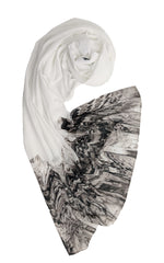 Load image into Gallery viewer, #LSEssential: Smokey White Shawl