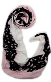 White Pink Shawl