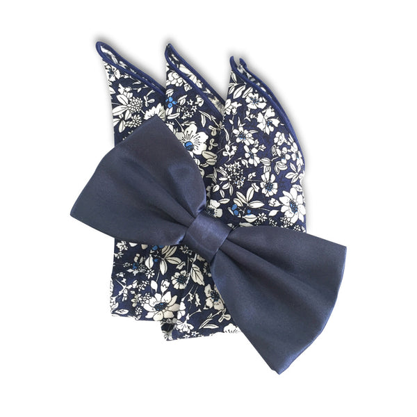 The Navy Bow Tie