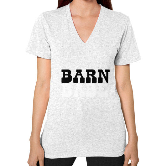 Barn Babe Women's V-Neck Tee