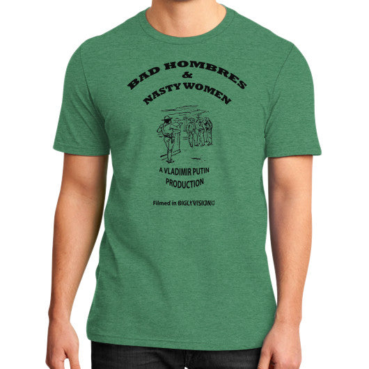 Bad Hombres & Nasty Women - The Movie Heather green Arlington T Shirt