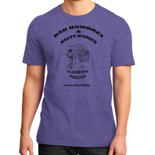 Bad Hombres & Nasty Women - The Movie Heather purple Arlington T Shirt