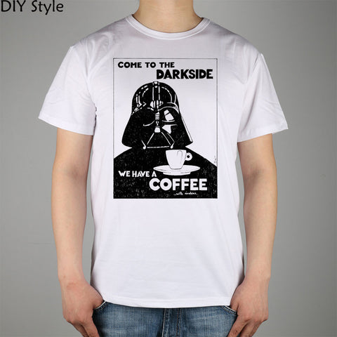 Come To The Dark (Roast) Side - We Have Coffee - Star Wars Funny T-Shirt