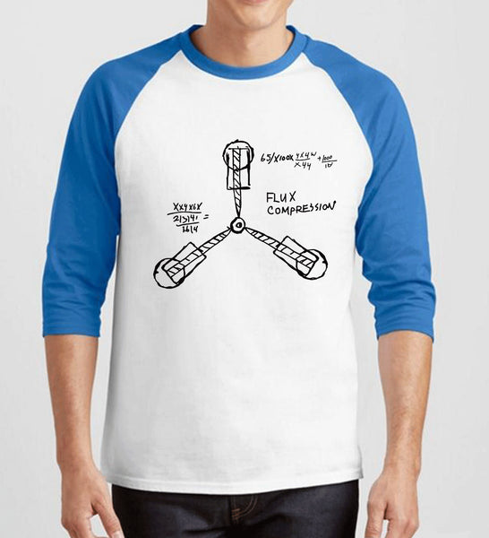 The Flux Capacitor Schematic Funny Men's T-Shirt