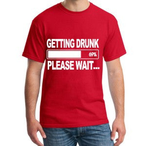 Getting Loaded - Funny T-Shirt