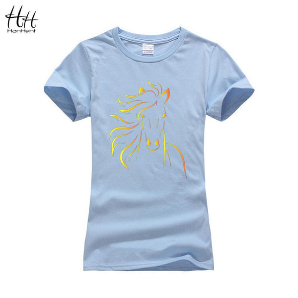 Bold Abstract Horse T-Shirt