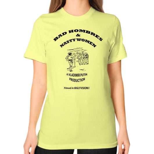 Unisex T-Shirt (on woman) Lemon Arlington T Shirt