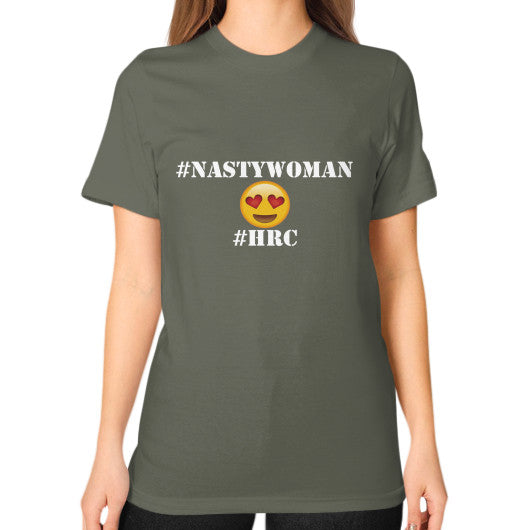 Unisex T-Shirt (on woman) Lieutenant Arlington T Shirt