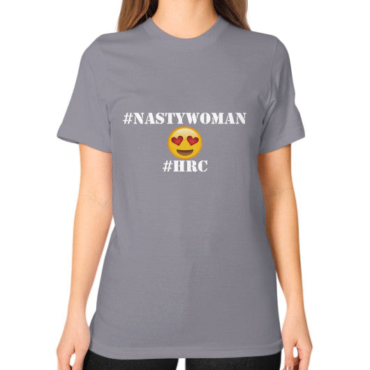 Unisex T-Shirt (on woman) Slate Arlington T Shirt