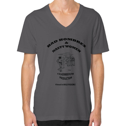 V-Neck (on man) Asphalt Arlington T Shirt