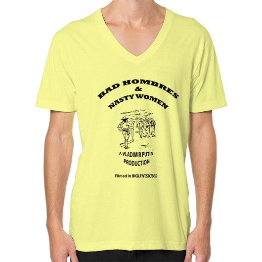V-Neck (on man) Lemon Arlington T Shirt