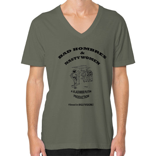 V-Neck (on man) Lieutenant Arlington T Shirt