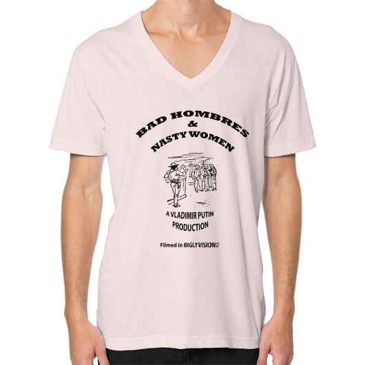 V-Neck (on man) Light pink Arlington T Shirt
