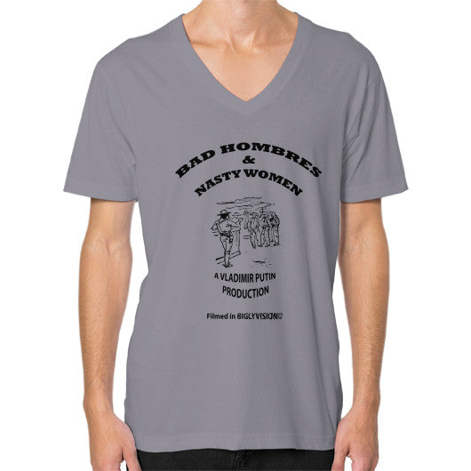 V-Neck (on man) Slate Arlington T Shirt