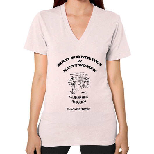 V-Neck (on woman) Light pink Arlington T Shirt