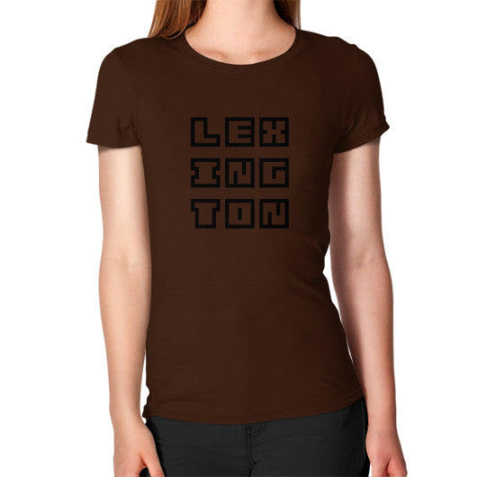 Women's T-Shirt Brown Arlington T Shirt